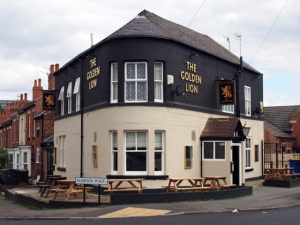The Golden Lion.  Sheffield S2