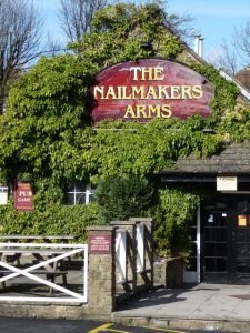 Nailmaker Arms Sign  Sheffield S8