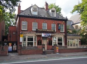The Porter Brook.  Sheffield S11