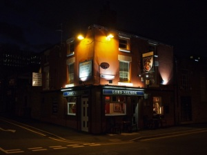 Lord Nelson at Night